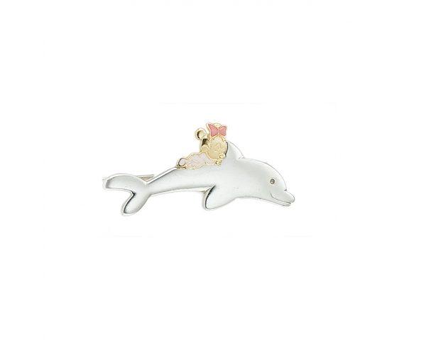 Aguja Minnie con Delfín