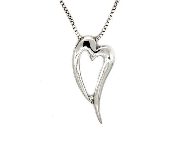 Colgante Corazón Plata