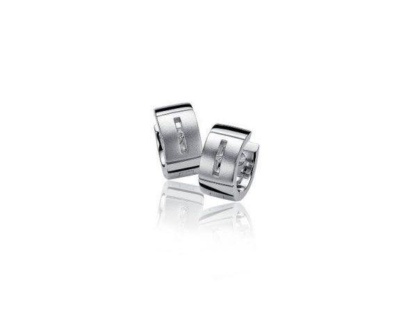 Pendientes Plata y Diamante Zinzi
