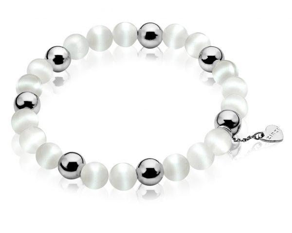 Pulsera Zinzi Perlas Blancas