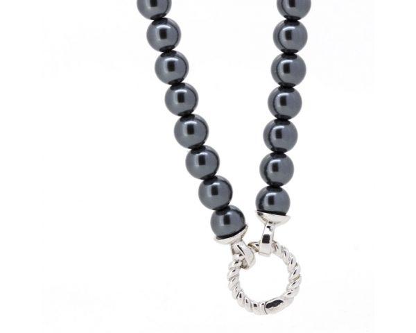 Collar perlas azules Zinzi