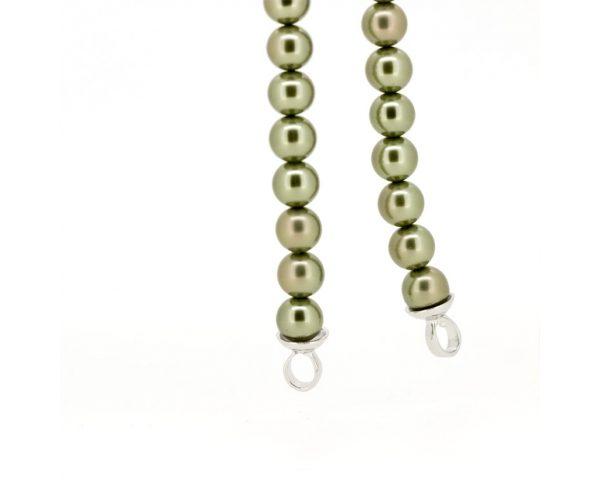 Collar perlas verde Zinzi
