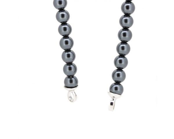 Pulsera perlas zules