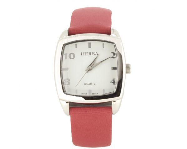 Reloj Hersa correa Roja