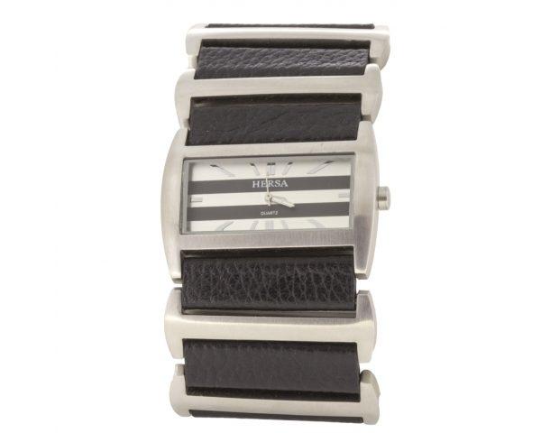 Reloj Hersa Correa Negra