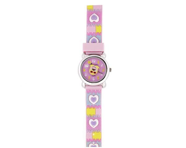 Reloj infantil corazones