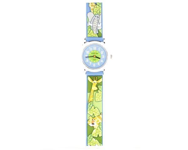 Reloj infantil animales jungla