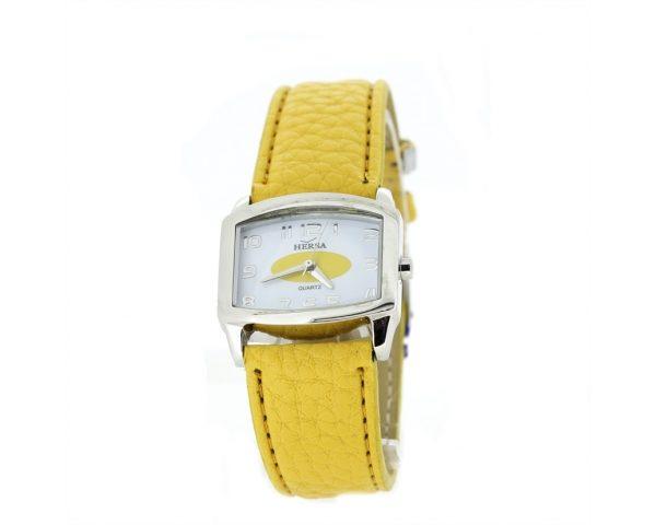 Reloj hersa correa amarilla