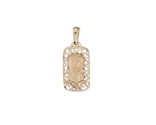 Medalla Virgen Oro 18k