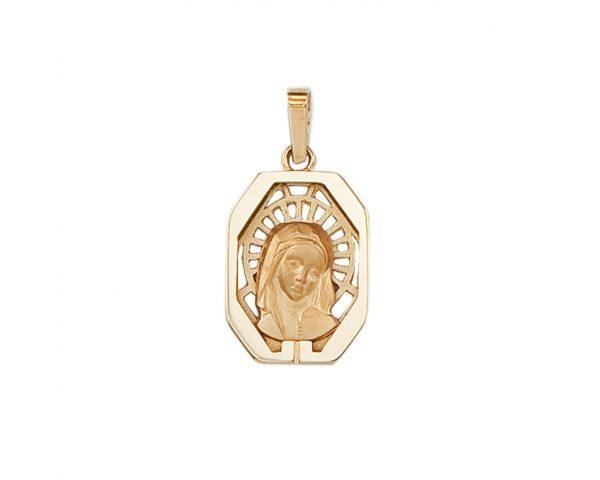 Medalla oro Virgen