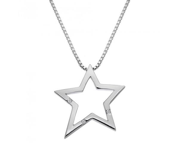 Colgante estrella Hot Diamonds