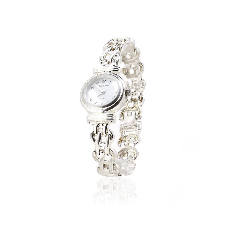 Reloj plata mujer